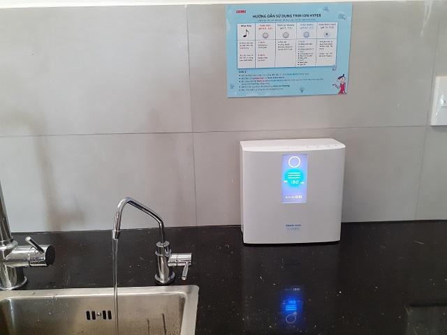 Công dụng chính của máy lọc nước Trim Ion Hyper chính là lọc sạch các tạp chất có trong nước