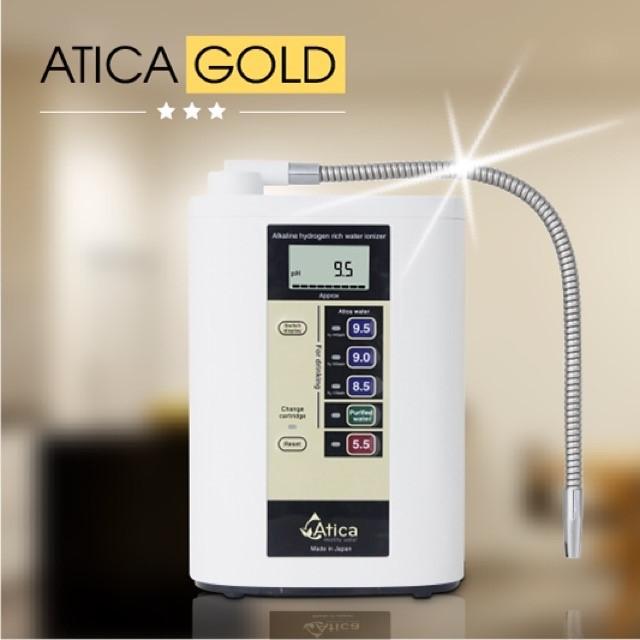 Máy lọc nước Atica Gold là sản phẩm ưu việt của tập đoàn Hitachi Maxell Nhật Bản