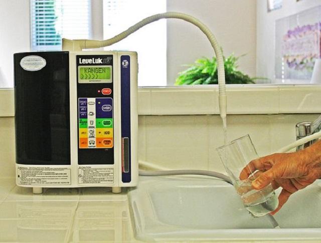 Máy lọc nước Kangen SD501 có khả năng lọc sạch mọi tạp chất có trong nước