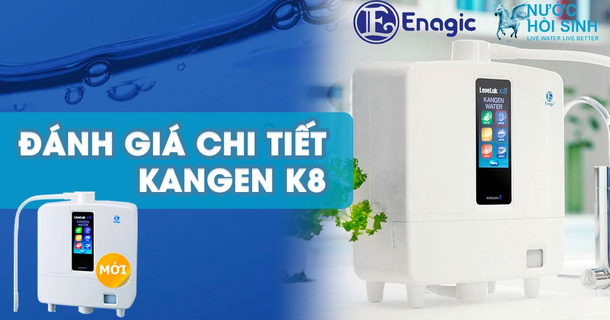 Đánh giá máy lọc nước Kangen