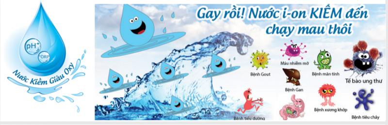 Nước điện giải ion kiềm, Muốn sống lâu hãy sử dụng nước điện giải ion kiềm, Nhà phân phối máy lọc nước ion kiềm số 1 Việt Nam | Vitamia