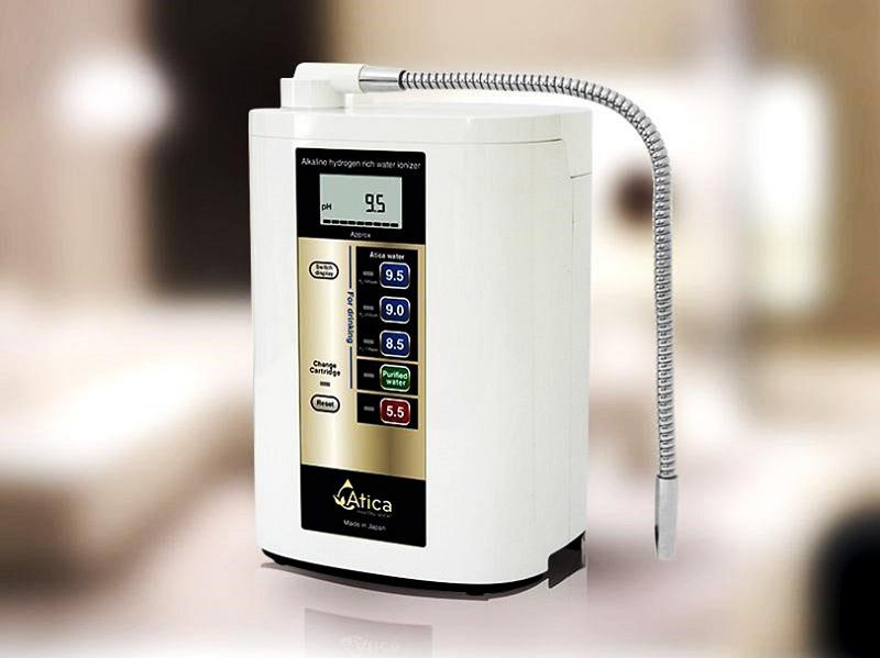 Máy lọc nước ion kiềm Eco sản xuất bởi hãng Hitachi Maxell