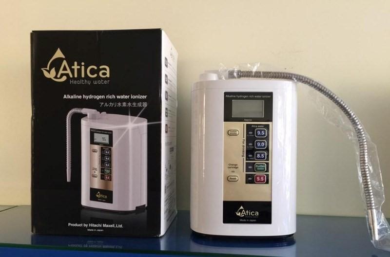 Bất kỳ ai cũng có sử dụng mẫu máy lọc nước Atica Silver