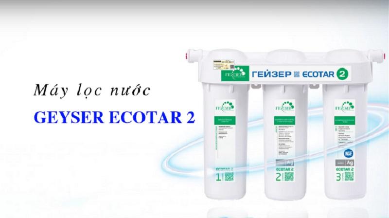 Bộ lọc đa năng của Nano GEYSER ECOTAR 3 có đủ khả năng loại bỏ đến 99% kim loại nặng