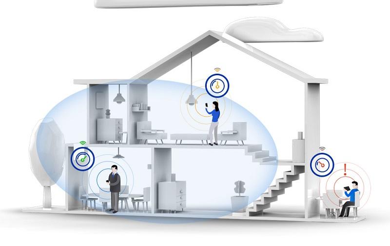 Hệ thống lọc tổng nước sinh hoạt EWS SMART cho phép kết nối wifi 4.0