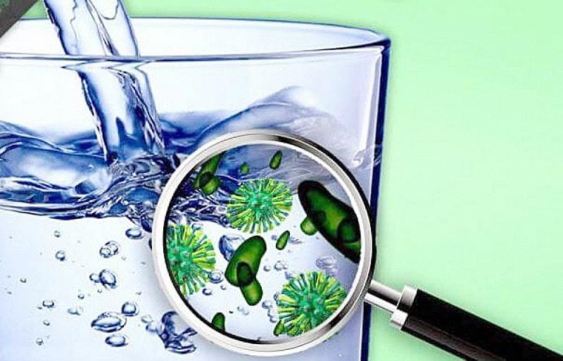 Loại bỏ tạp chất và vi khuẩn có trong nước