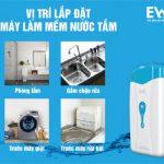 Máy làm mềm nước phòng tắm EWS cao cấp là thiết bị cần thiết cho mọi gia đình