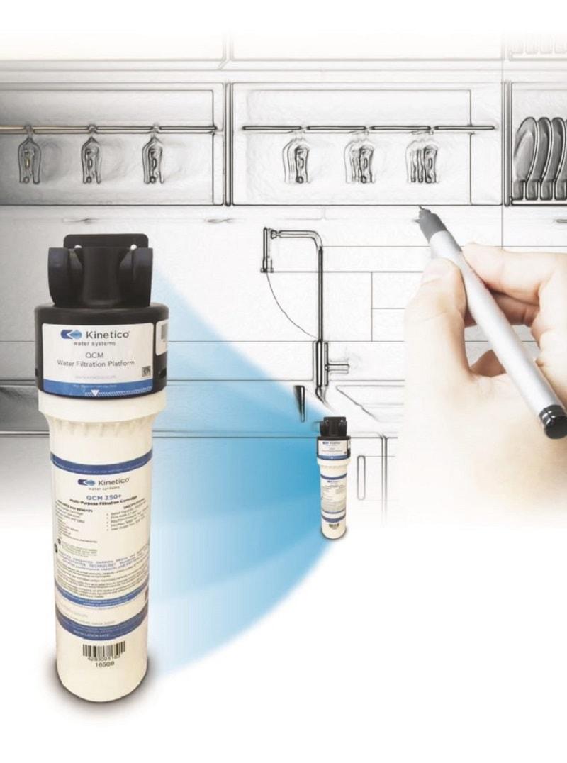 Máy lọc nước QCM 350 KINETICO siêu lọc của Mỹ theo công nghệ than hoạt tính