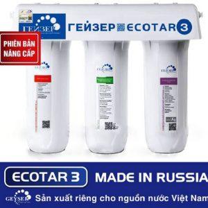Máy lọc nước nano GEYSER ECOTAR 3 có xuất xứ 100% từ Liên Bang Nga