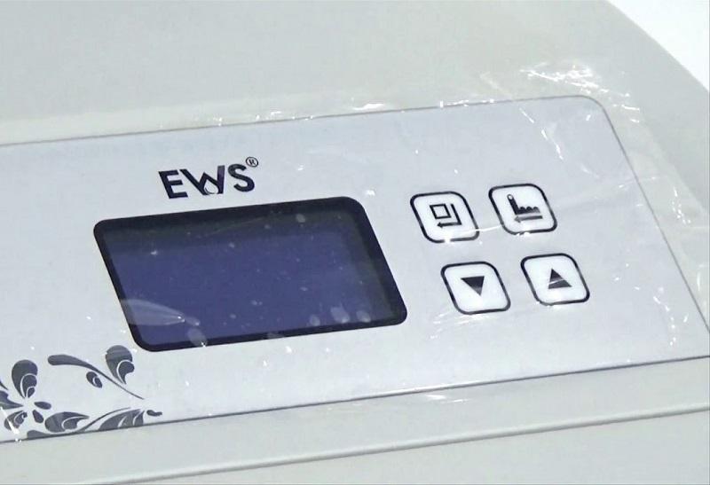 Phần màn hình của hệ thống lọc tổng nước sinh hoạt EWS PRO