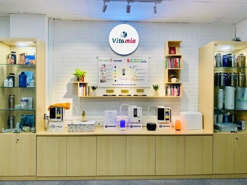 Showroom trưng bày sản phẩm của Vitamia