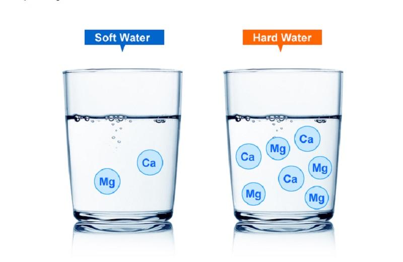 So sánh nước mềm và nước cứng