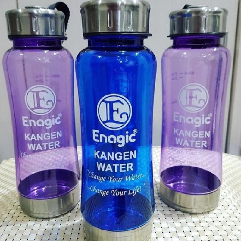 Bình đựng nước ion kiềm Kangen Water 550ml dễ dàng mang theo bên người đến bất kỳ đâu