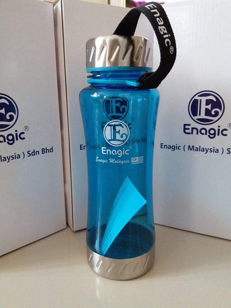 Chai nước Kangen 550ml thường được sử dụng để chứa đựng và bảo quản nước ion kiềm