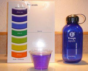 Chất liệu nhựa cao cấp được Enagic tuyển chọn kỹ lưỡng để sản xuất chai đựng nước Kangen 1000ml