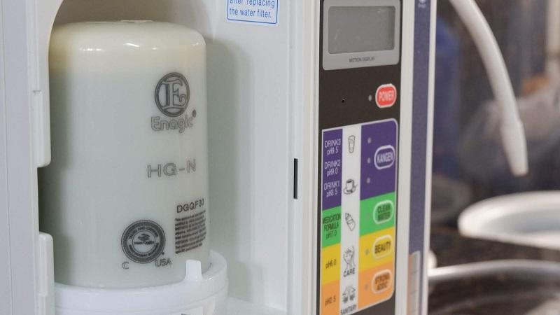 Cục tim lọc máy Kangen Leveluk K8 chính là cứu tinh cho nguồn nước của gia đình