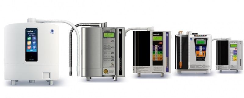 Enagic Nhật Bản là nhà sản xuất của nhiều dòng thiết bị hỗ trợ sức khỏe