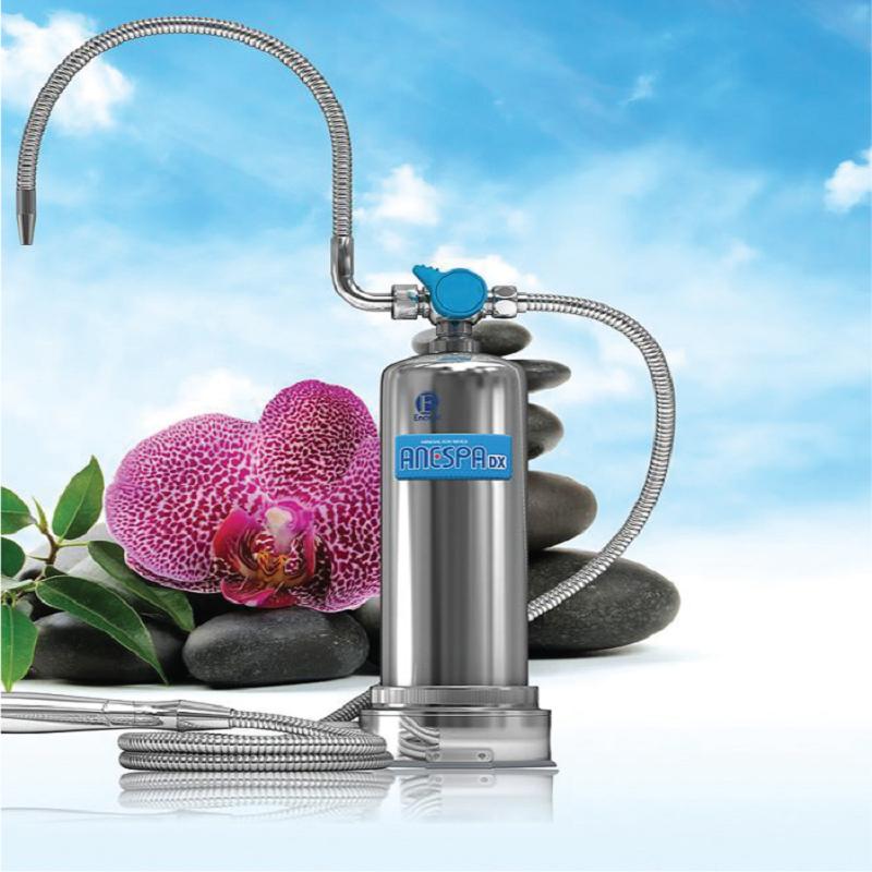 Hệ thống lọc trong Kangen Anespa Mineral Ion Water Spa có tác dụng lọc sạch tạp chất trong nước