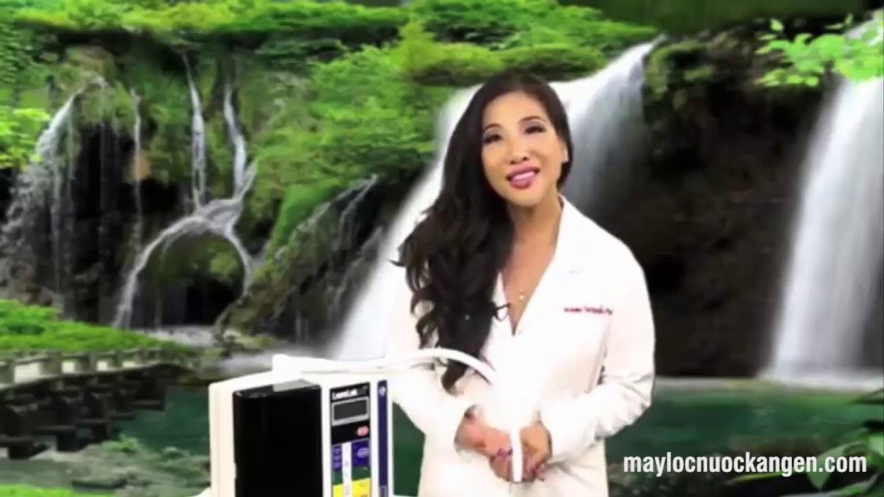 Dược sĩ Thu Thảo nói về lợi ích của máy lọc nước Kangen đối với sức khỏe hàng ngày của chúng ta
