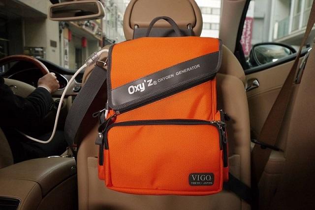 Máy oxy tươi Vigo OXY'Z có thể lắp đặt trong ô tô