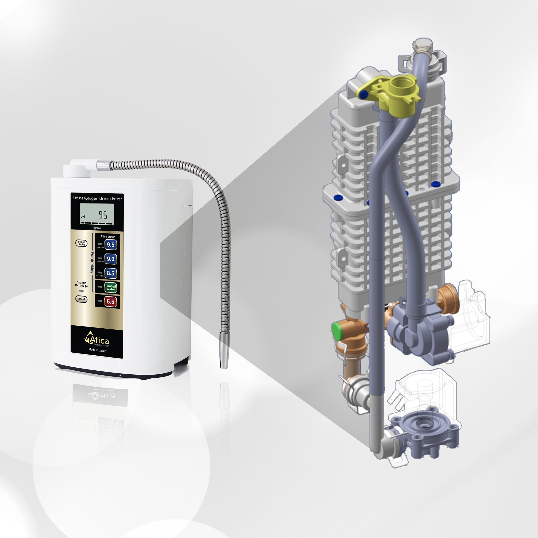 máy lọc nước Atica, Hướng dẫn từ A-Z cách chọn mua máy lọc nước Atica chính hãng, Nhà phân phối máy lọc nước ion kiềm số 1 Việt Nam | Vitamia