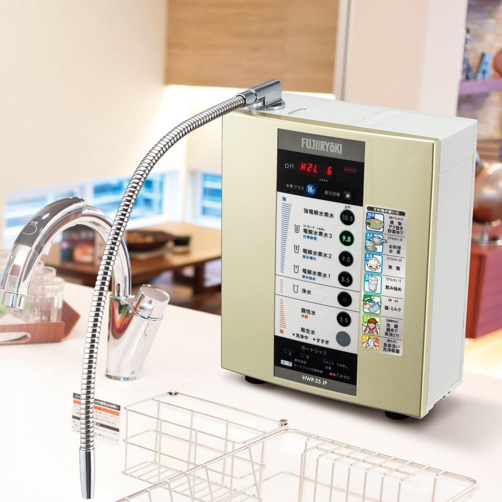 [Review chi tiết] cách chọn mua máy lọc nước Fujiiryoki Nhật Bản
