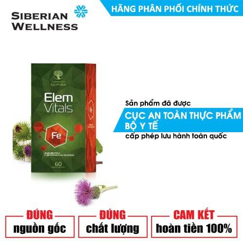 Elemvitals Iron with Siberian herbs -2