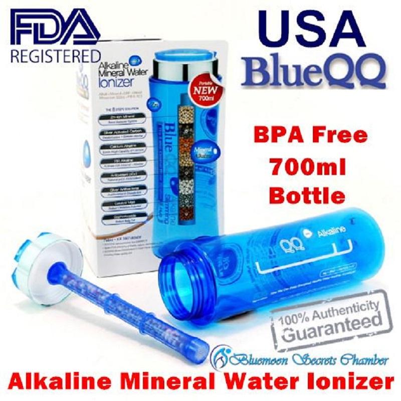 Bình tạo nước kiềm BlueQQ được chứng nhận BPA FREE từ FDA Mỹ