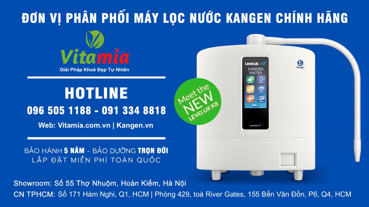 Máy lọc nước ion kiềm, Máy lọc nước ion kiềm, Nhà phân phối máy lọc nước ion kiềm số 1 Việt Nam | Vitamia