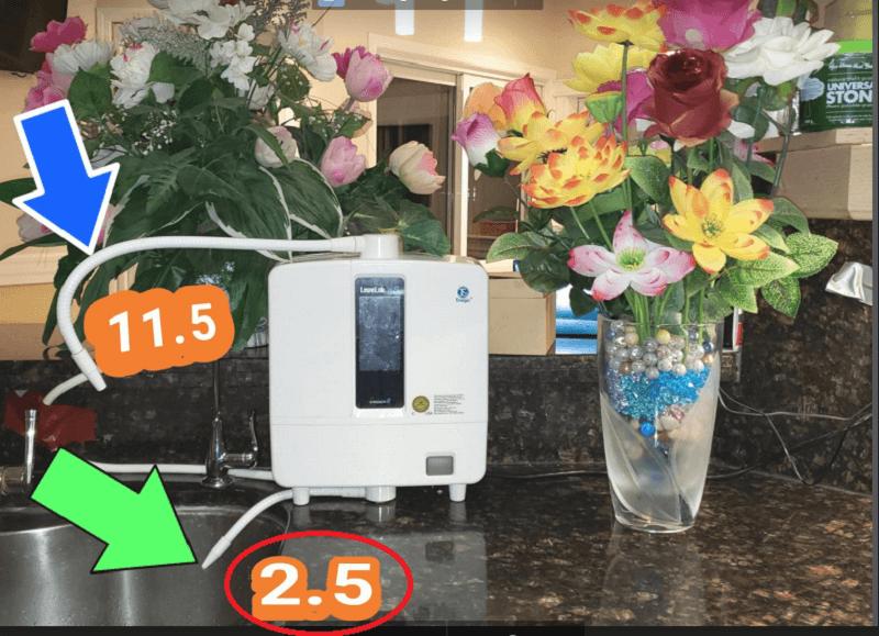 Nước Kangen 2.5 pH
