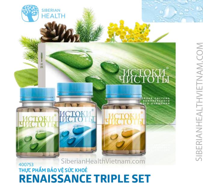 Thực phẩm chức năng Renaissance Triple Set – hỗ trợ ngăn ngừa bệnh viêm gan B hiệu quả