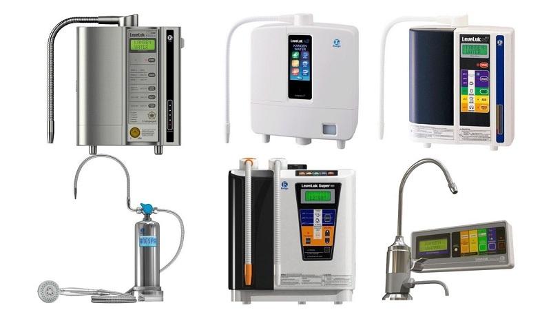 Các loại máy lọc nước ion kiềm phổ biến nhất hiện nay