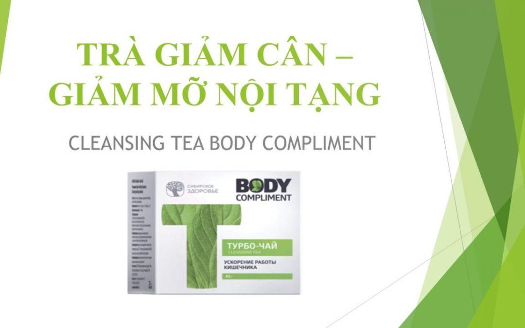 Bạn đã biết cách giảm béo nhờ công dụng của Trà thảo mộc Cleansing tea body compliment?