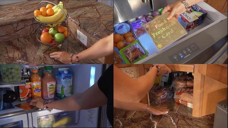 Sử dụng thẻ thực phẩm tươi để bảo quản thực phẩm lâu hơn