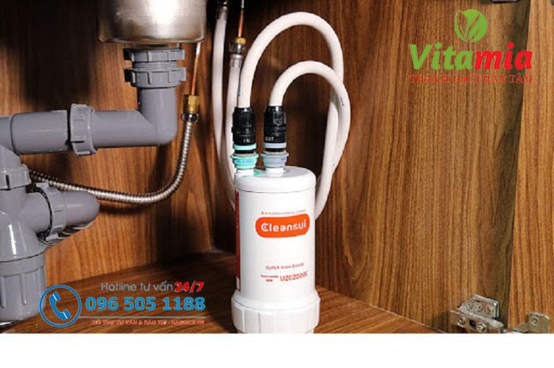 Đánh giá những đặc điểm nổi bật của máy lọc nước Cleansui