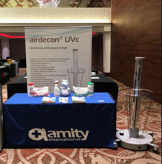 Airdecon UVc đặc biệt phù hợp để sử dụng trong các cơ y tế