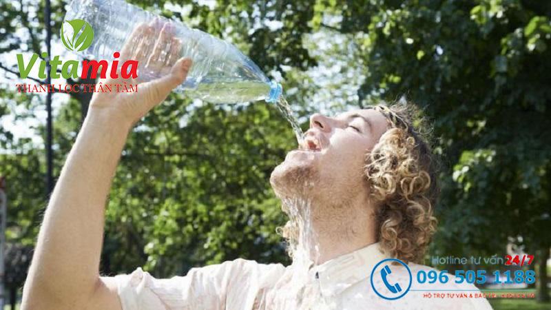 Chăm sóc cơ thể thật tốt và tránh tình trạng mất nước