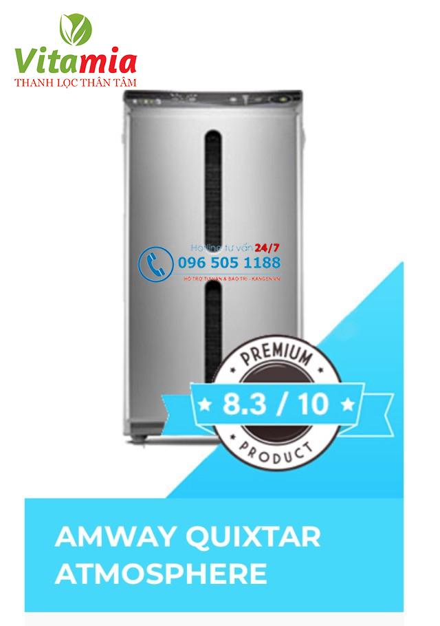 Máy lọc khí Atmosphere của thương hiệu Amway được nhiều khách hàng đánh giá cao về chất lượng