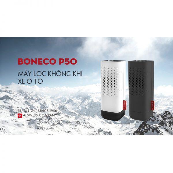 Tất tần tật thông tin về máy lọc không khí Ô TÔ BONECO P50