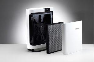 BONECO P400 cung cấp 4 chế lọc không khí và 5 cấp độ quạt