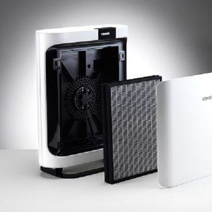 BONECO P500 được tích hợp thêm 5 cấp độ quạt