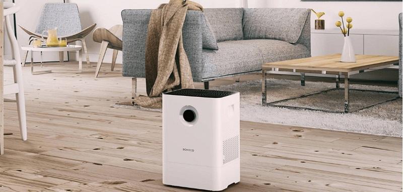 BONECO W200 có thể lọc sạch bụi bẩn, nấm mốc lại vừa tạo độ ẩm cần thiết cho không khí
