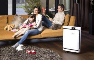 Bộ lọc khói thuốc lá BONECO A503 đặc biệt thích hợp sử dụng cho những gia đình có người hay hút thuốc lá