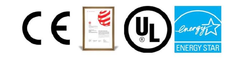 Các chứng nhận của máy tạo hơi ẩm Ultrasonic U50