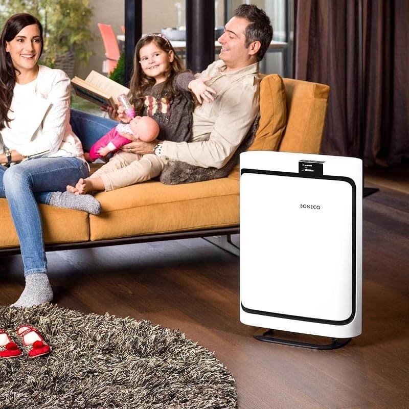 Các gia đình có con nhỏ nên trang bị thiết bị lọc không khí