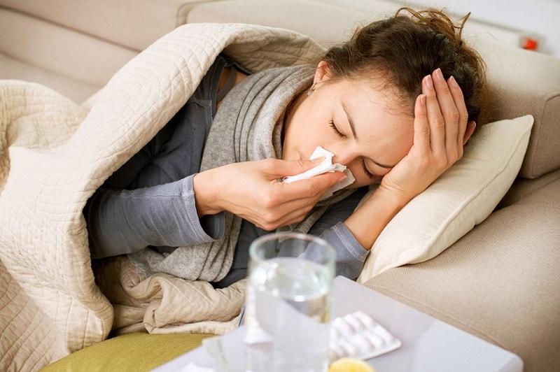 Các triệu chứng cảm cúm sẽ được cải thiện nếu không khí có đủ độ ẩm