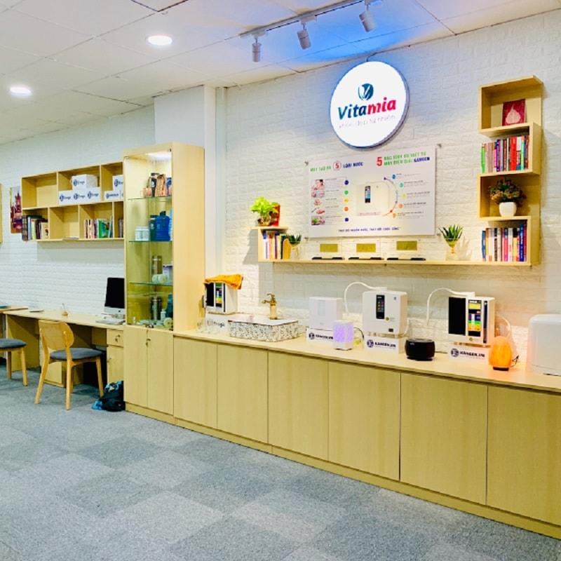 Cửa hàng Vitamia có mặt trên toàn quốc