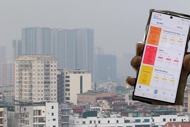 Không khí ô nhiễm ảnh hưởng đến sức khoẻ
