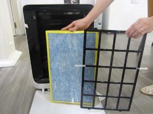 Lọc sạch các loại bụi bẩn trong không khí