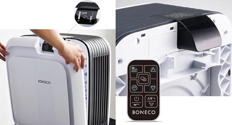 Màng lọc sơ bộ của BONECO A681 có tác dụng ngăn chặn bụi kích thước lớn